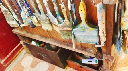 生活雜記│走進藝術的世界 耕田畫家黃承遠與千年古樹普洱茶 相思木 飄香 賞藝術