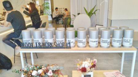 新竹新豐 | Wooli Cafe 一秒到韓國~歐巴煮咖啡給你喝 夢幻咖啡 大理石牆面 網美打卡聖地